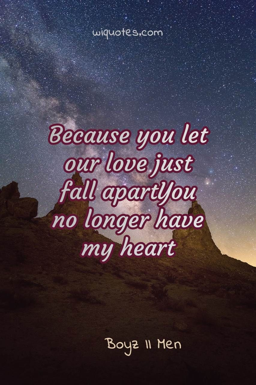 Couples Quote By Boyz Ii Men In 2020 Couple Quotes Funny Couple Quotes Couples Quotes Love