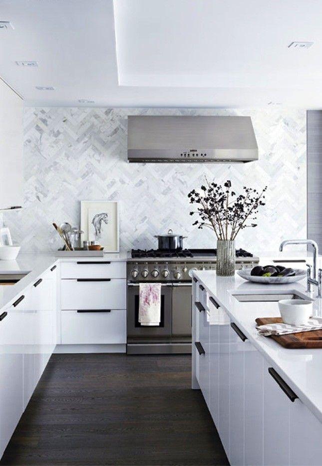14 Modern + Affordable IKEA Kitchen Makeovers | Pinterest | Kitchen ...
