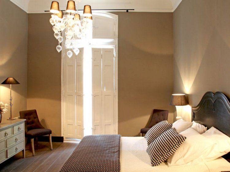 Chambre En Total Look Taupe Chambre Couleur Taupe Chambre Taupe Et Blanc Deco Chambre Taupe
