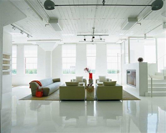 Collectors Loft Poteet Architects Epoxy FloorModern
