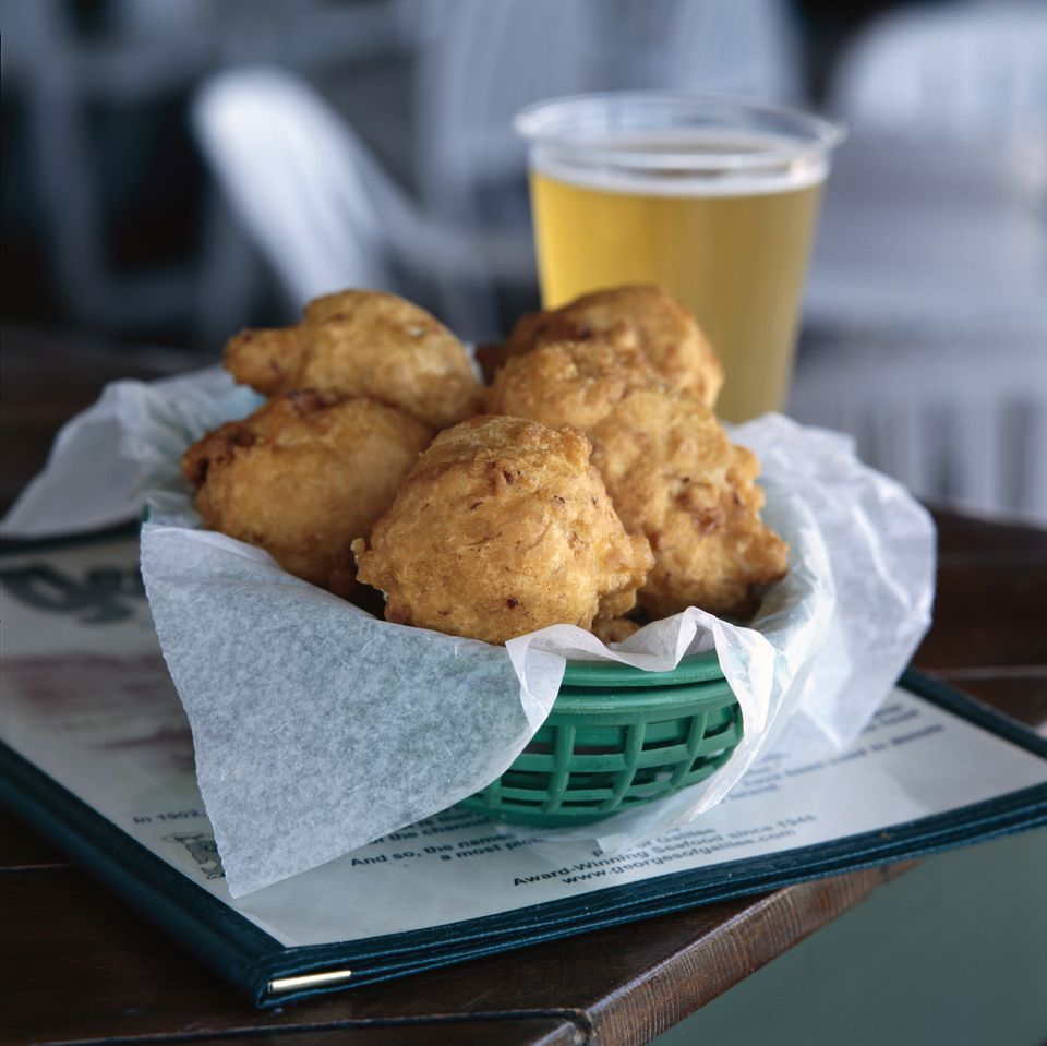 Fried Lobster Fritters