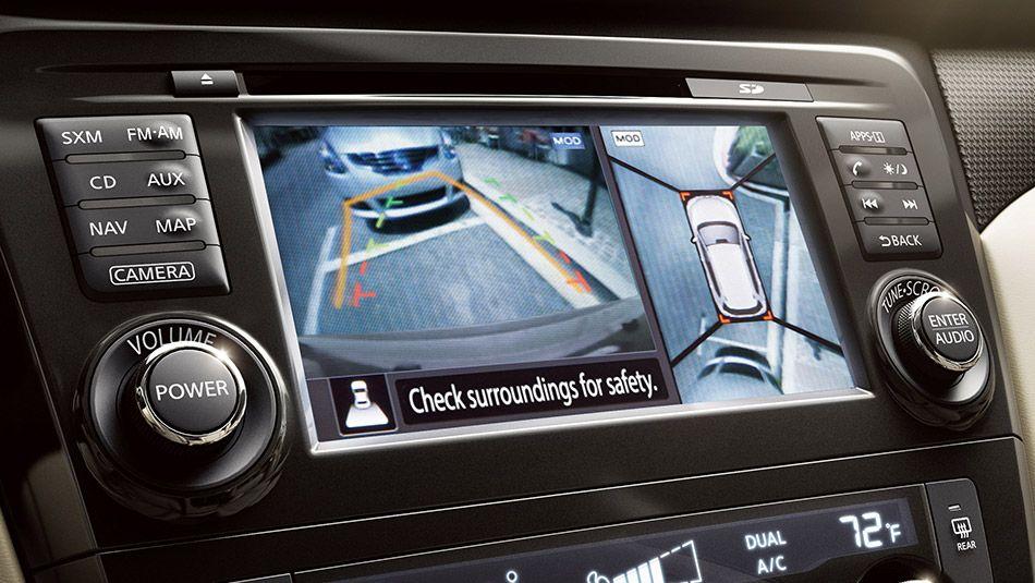 Around View® Monitor Nissan rogue interior, Nissan rogue