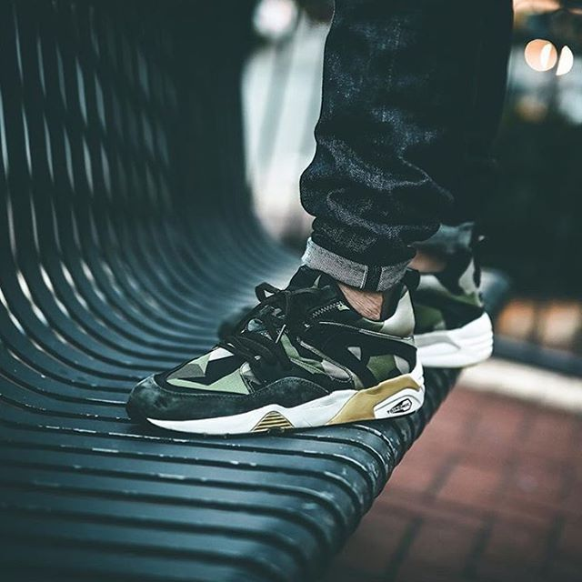 SNEAKERSNSTUFF X PUMA BLAZE OF GLORY