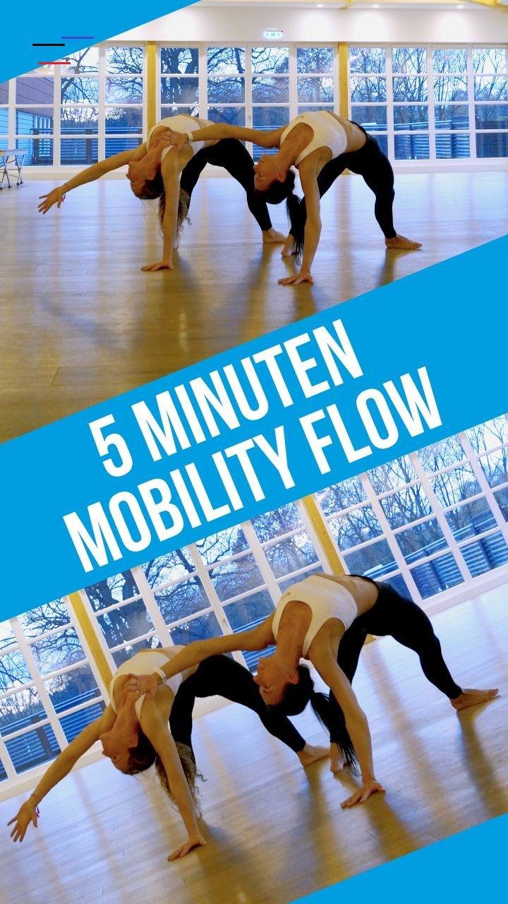 Das 5 Minuten Anti Stress Workout Abschalten, Kraft tanken, Gelenke und Sehnen dehnen: Wer einen Mob...