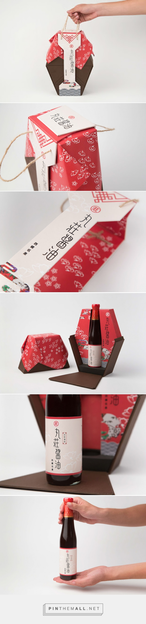 丸莊醬油 - Soy Sauce Packaging         on          Packaging of the World - Creative Package Design Gallery - created via https://pinthemall.net
