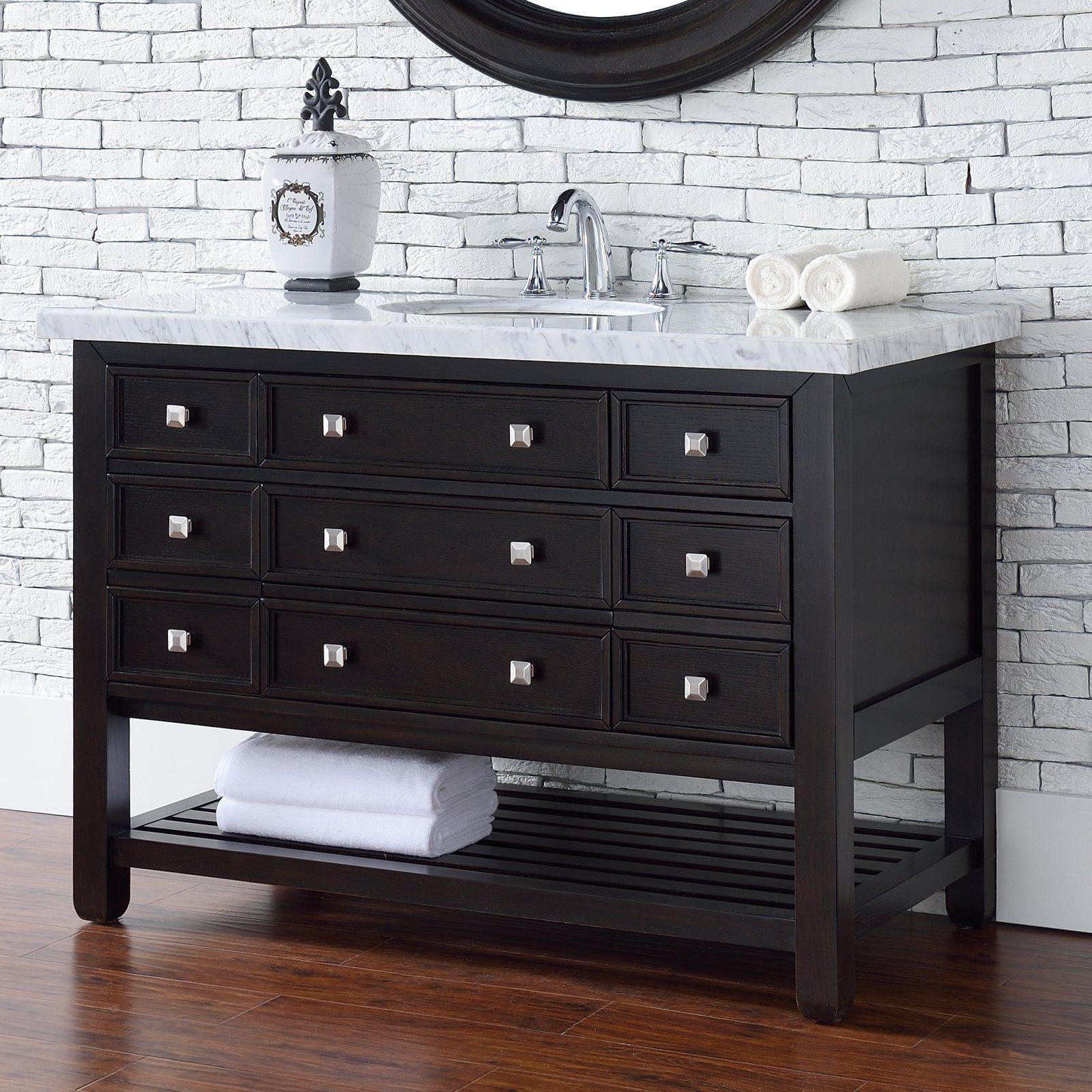 James Martin Vancouver 45 5 In Single Bathroom Vanity From Hayneedle