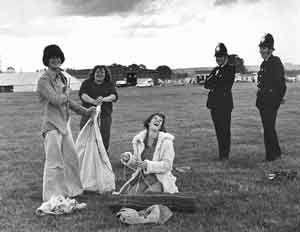 "watchfield-1975-happiness"" hey serg them kids must taking mushrooms"" hippie festival caroline and i went to,"