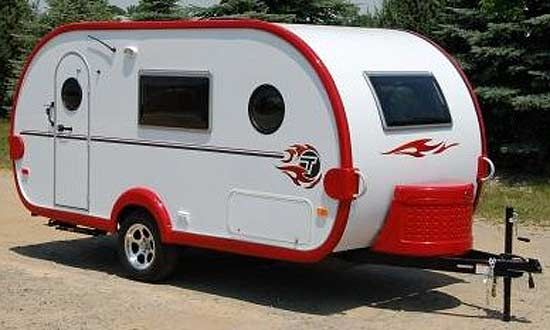 small vintage campers and tda includes most of the features found - Tiny Camping Trailers