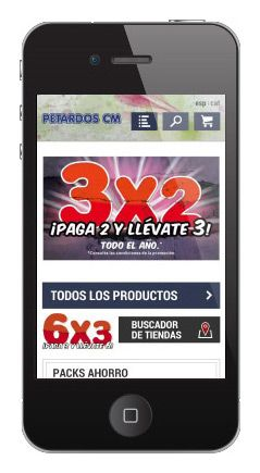 Website Movil De Petardoscm Com Smartphone Dispositivos