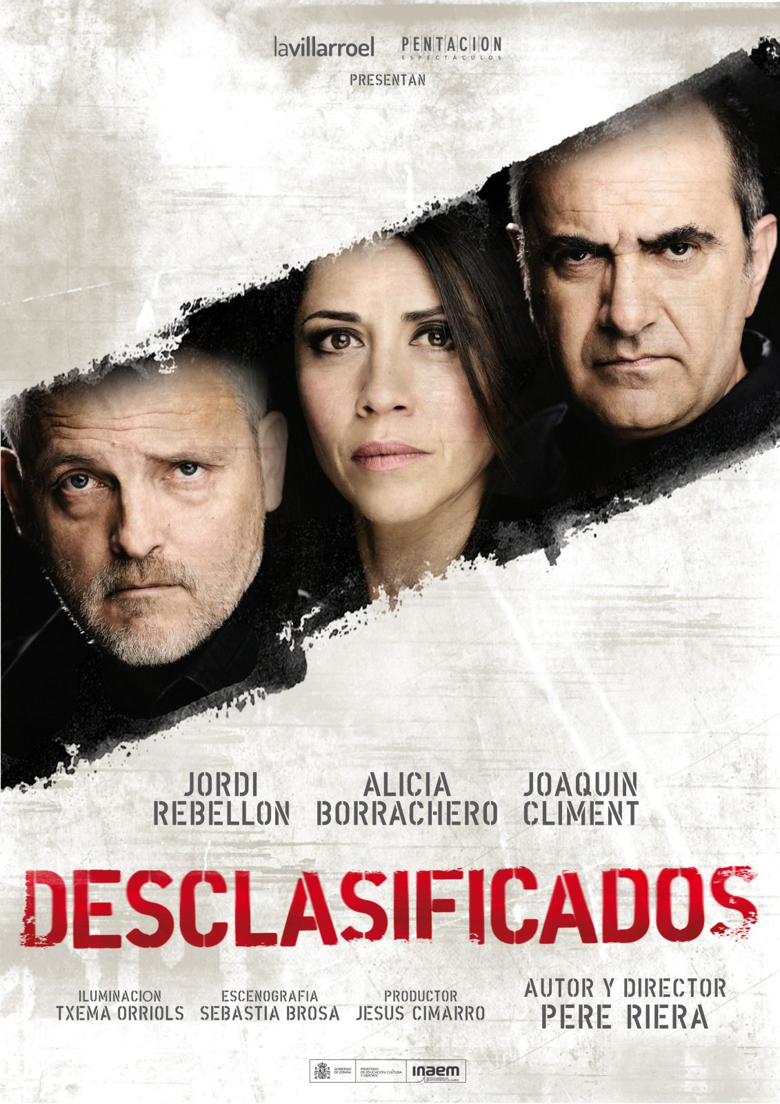"Cartel de ""Desclasificados"" #desclasificados #aliciaborrachero"