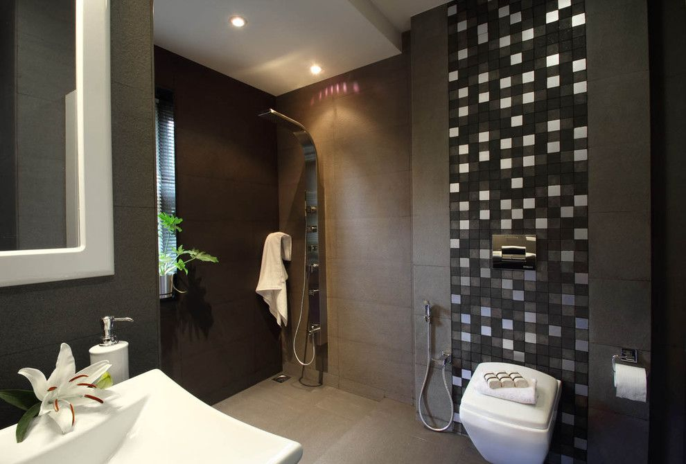 Open Wet Room By Savio U0026 Rupa With Great Shower Panel ~ Http://