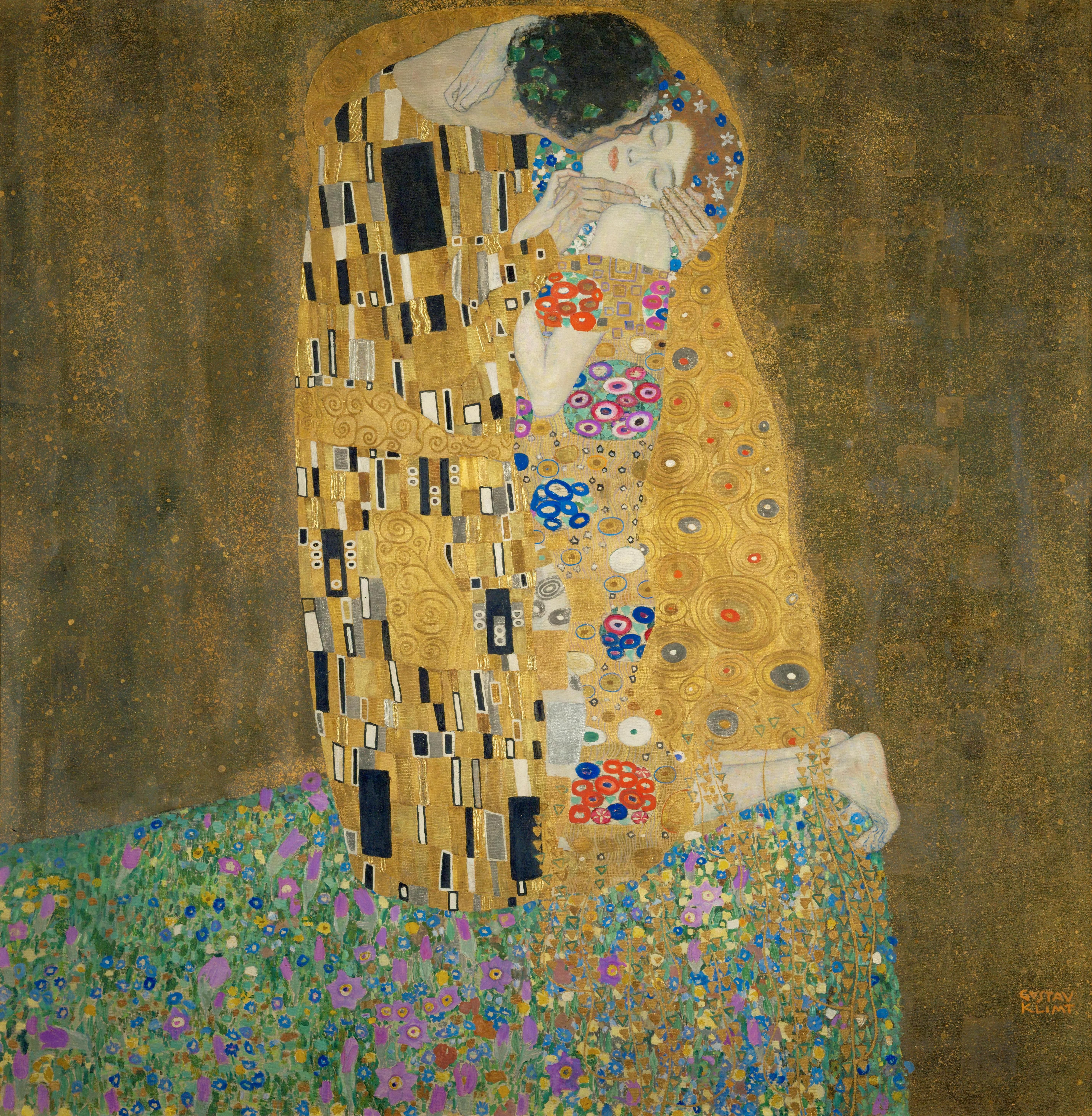 Gustav-Klimt-The-Kiss- | ✿⊱╮ARTE:PINTURA | Pinterest | Arte ...