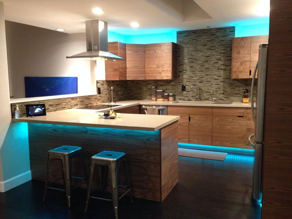 led lighting for kitchen cabinets led light strips are great for lighting up your kitchen 8949
