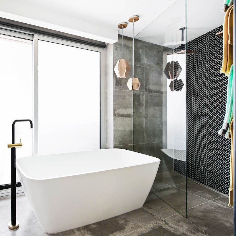 Bathroom Ideas The Block shay and dean's master bathroom offering on the block 2015