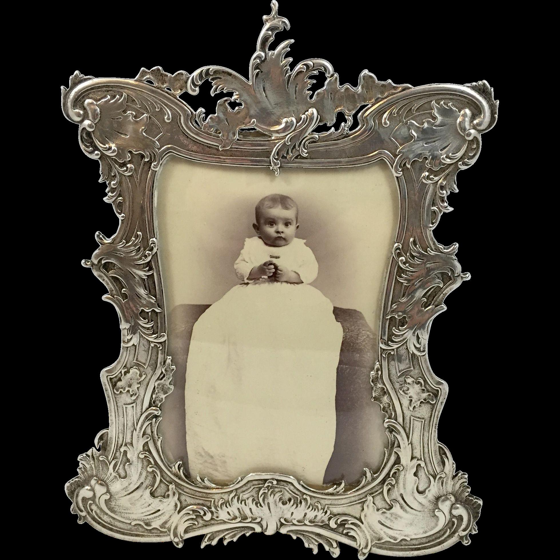 ornate gorham sterling frame 4x5 5 frame antique picture frames frame decor ornate gorham sterling frame 4x5 5