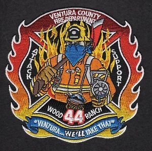 Ventura CA Station 52 Medic Engine Fire Patch