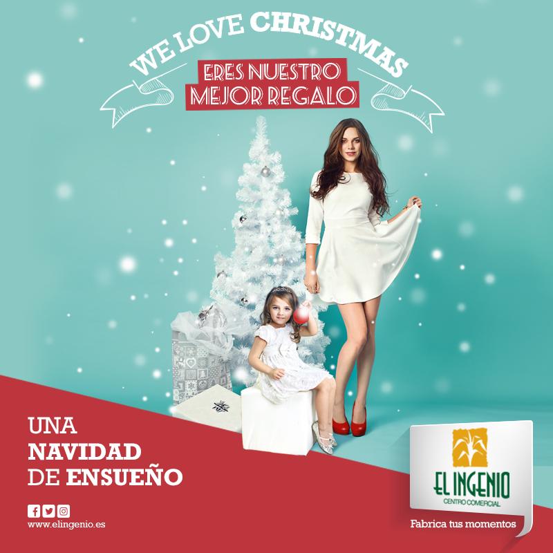 Ven A Disfrutar De Una Navidad De Ensueño En El Ingenio Centro Comercial Centro Comercial Tiendas De Ropa Navidad
