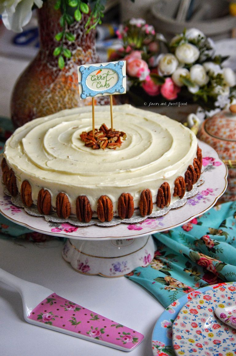 107 Recipe Perfect Carrot Cake With Cream Cheese Frosting: Perfect Carrot Cake With Cream Cheese Frosting