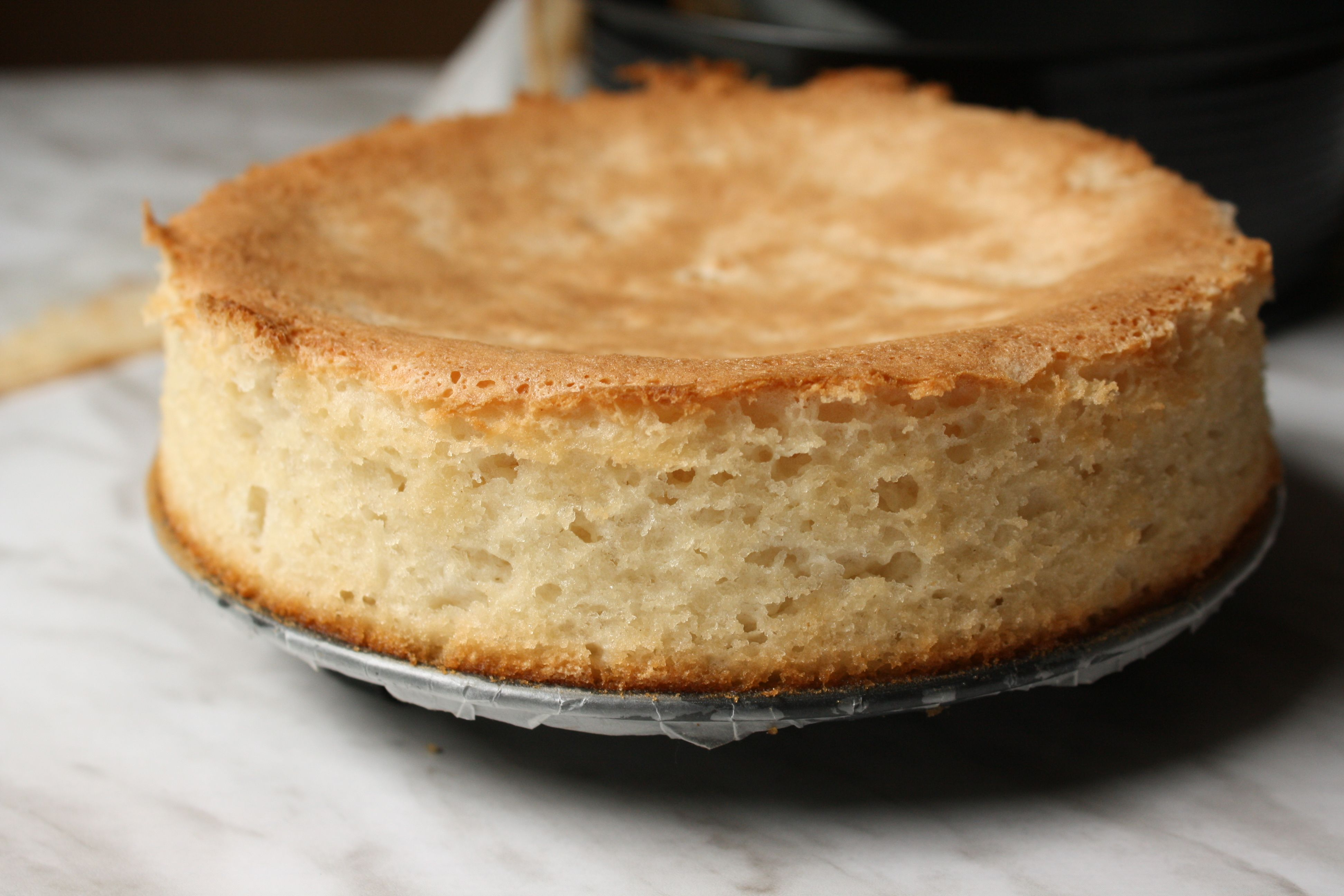 Aquafaba sponge cake/Fluffy sponge cake