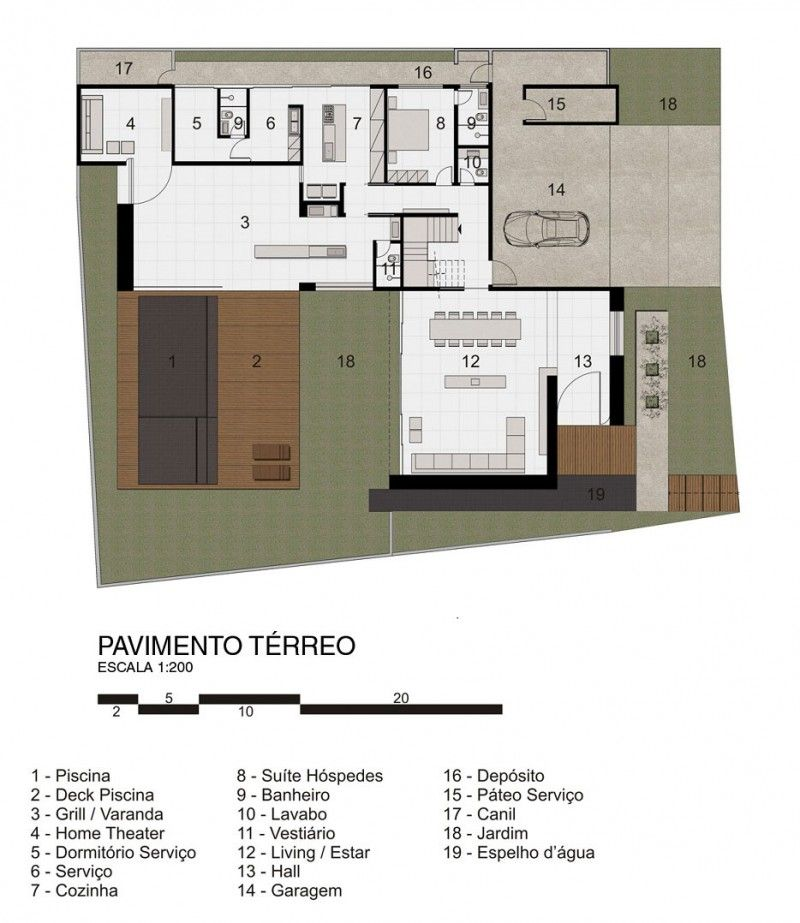FF House by Studio Guilherme Torres | Arch.Design Drawing ...