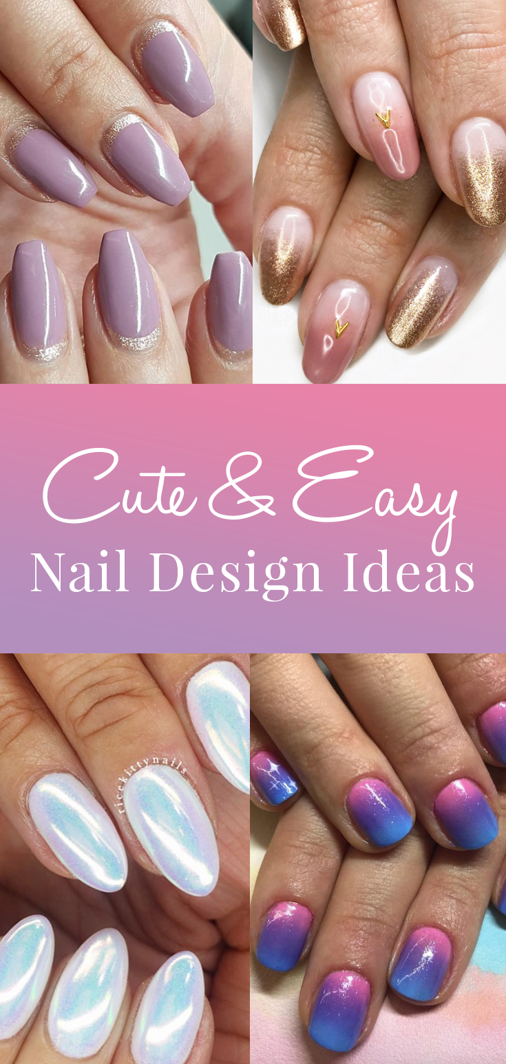 cute and easy nail design ideas best nails pinterest nail