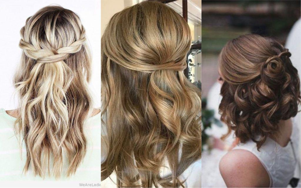 140 Peinados Para Fiesta Que Son Faciles Hermosos Y Elegantes Pelo Corto Largo O Recogido Peinados Recogidos Cabello Corto Peinados Pelo Medio Peinados