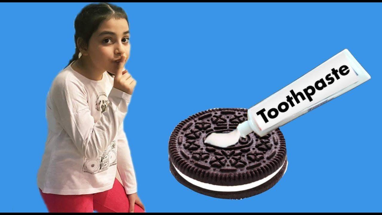 Ecrin Esmanura #DişMacunuŞakası Yapıyor - ToothPaste Joke in OREO'S prank! tooth removal