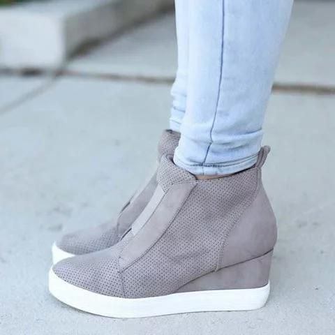 Wedge sneakers, Sneakers fashion