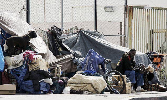 La To Launch Crackdown On Homeless Encampments Homeless Veterans Homeless Sleep City