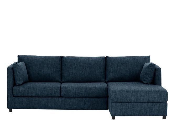 Milner Right Corner Storage Sofa Bed With Memory Foam Mattress Harbour Blue From Made Its Slim Arms And Legs Our Has A