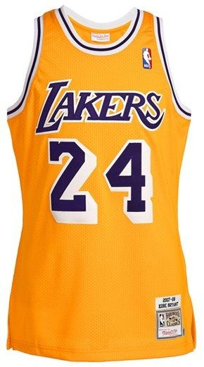 1d87b6e55 Mitchell   Ness  Los Angeles Lakers 2007-2008 - Kobe Bryant Authentic  Basketball  Jersey on shopstyle.com
