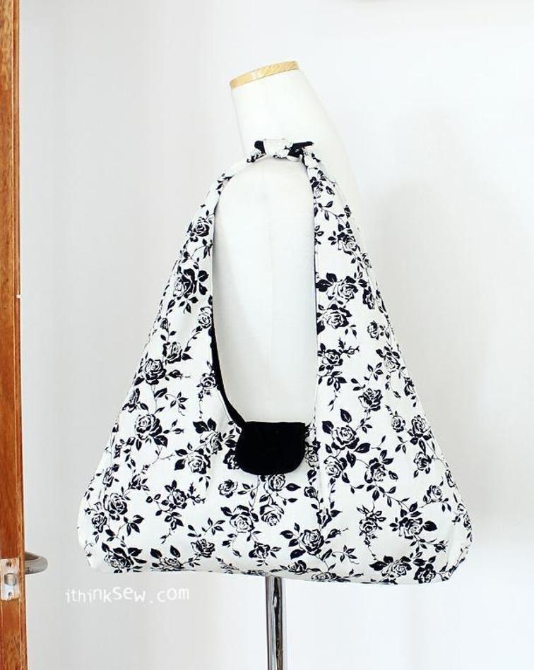 FREE #31 Leslie Bag PDF Pattern | Craftsy | Taschen | Pinterest