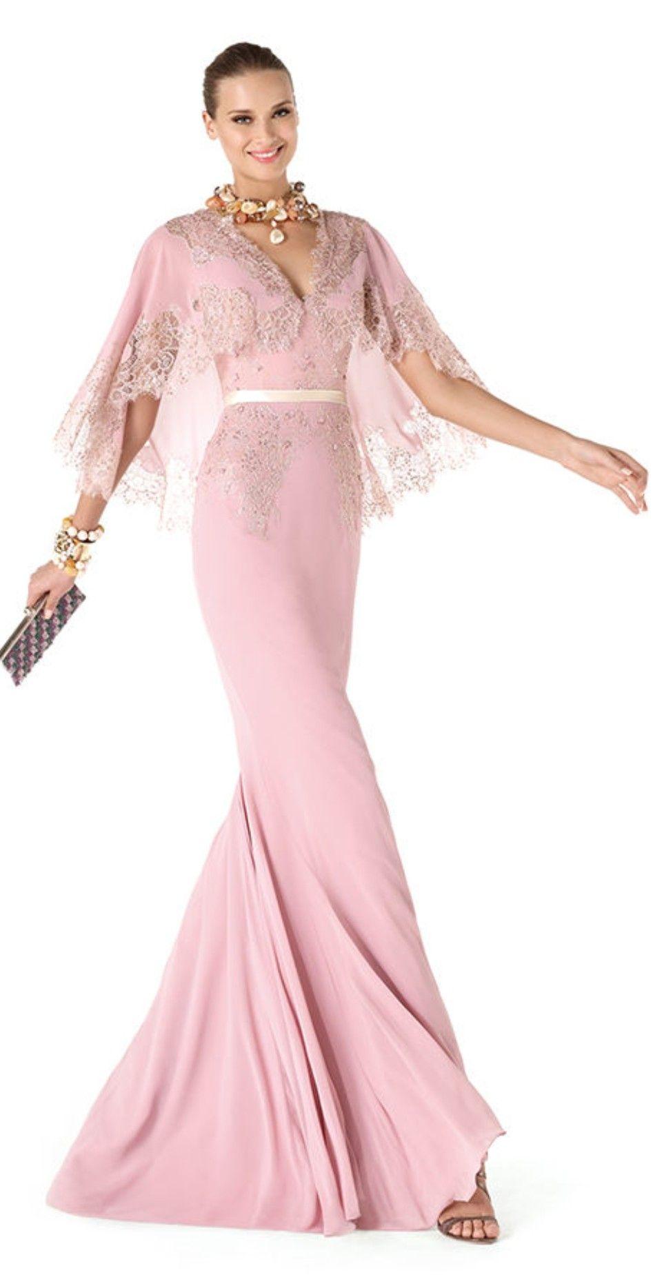 Pronovias 2014 glamour gown | ❤ Palest Pink ❤ | Pinterest | Trajes ...