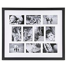 Image Of 10 Photo Collage Frame In Black Fotos Quadros Look