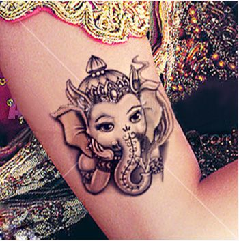 Buddhist Totem indian tattoo style | tattoo | Pinterest ...