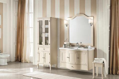 Mobile bagno sospeso classico arredamento bagno