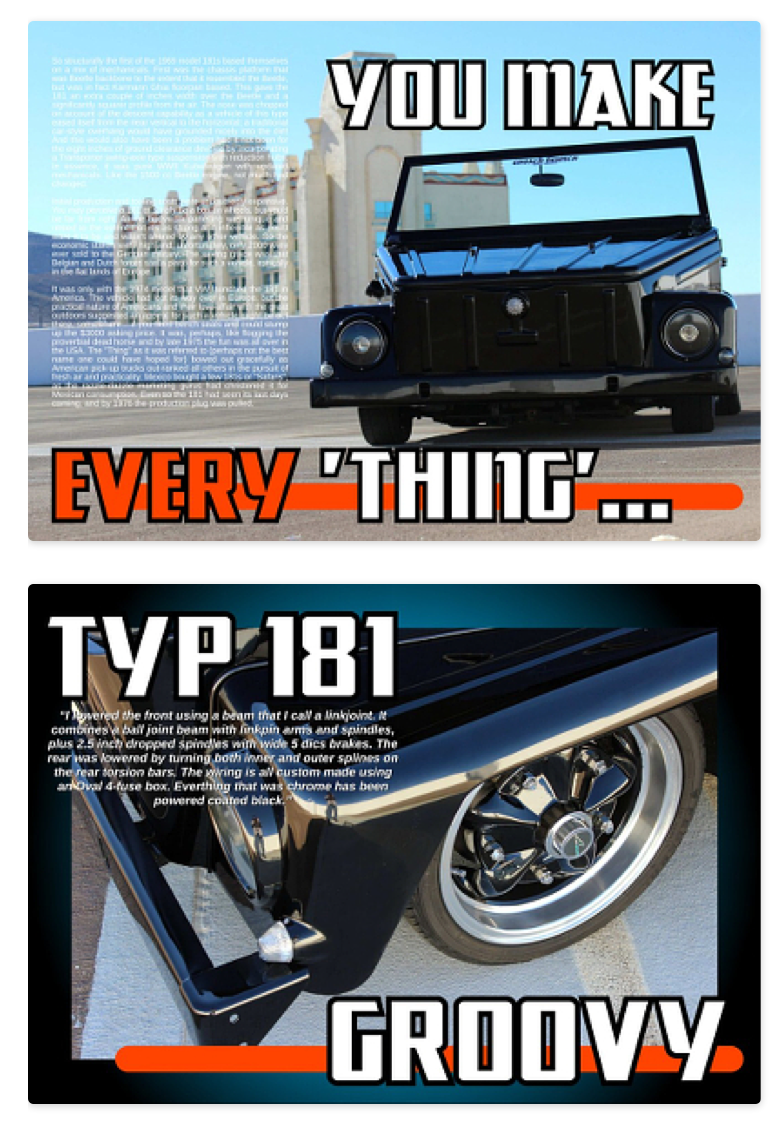 Wild Thing 1974 Vw Type 181 Usa Whether You Call It A Fuse Box