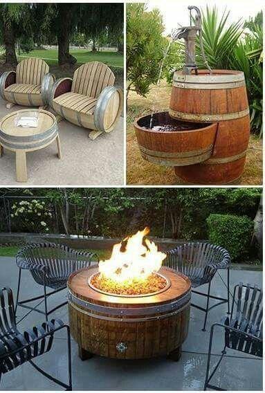 Interesting uses for wine barrels