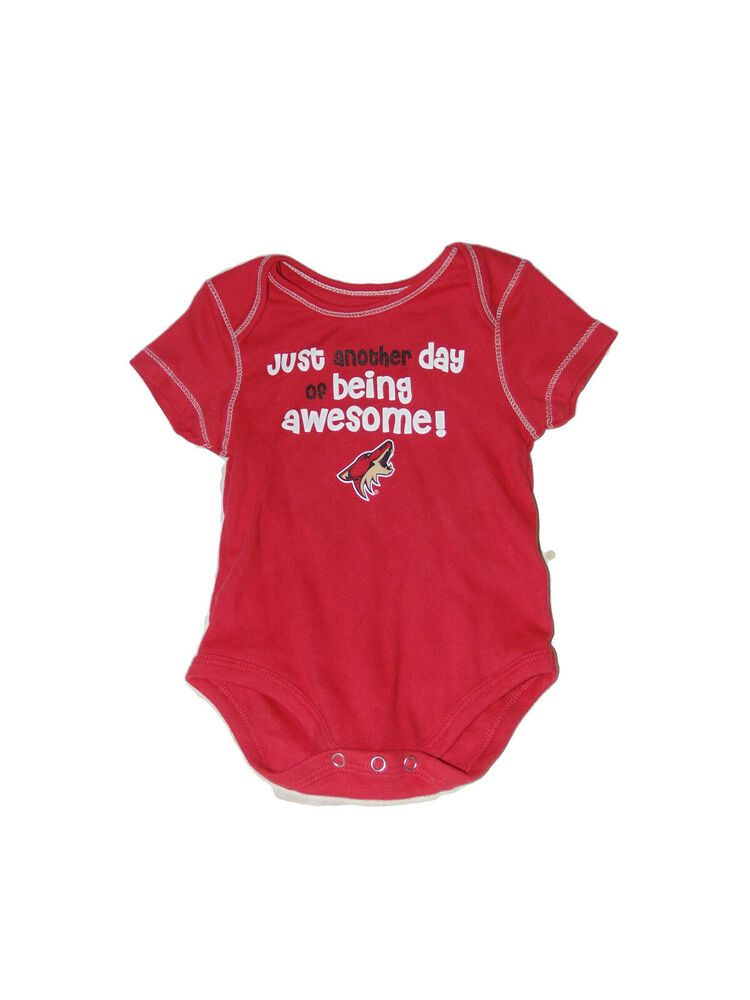 Arizona Coyotes Awesome Romper One Piece 12 Months