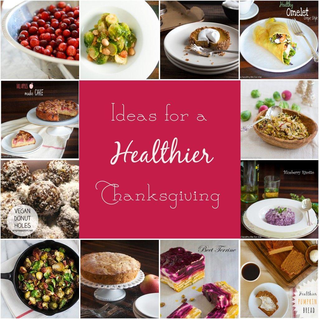 Healthier Thanksgiving Recipe Round Up