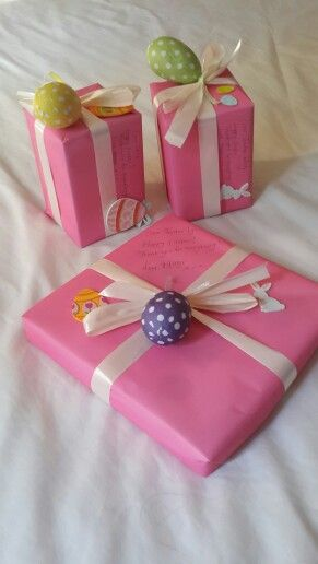Easter wrapping