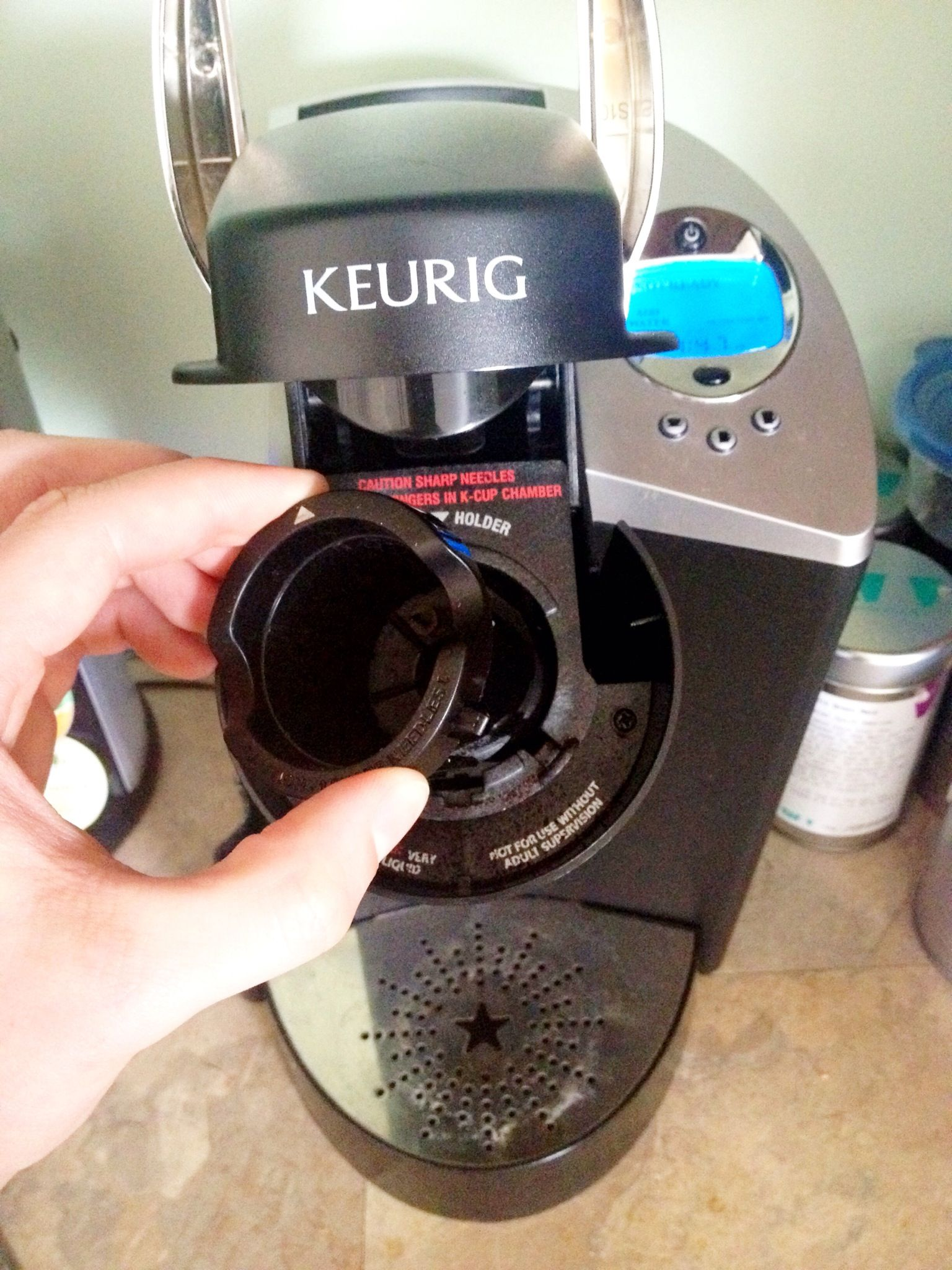 How To Descale Clean Your Keurig Brewer Recipe Keurig Cleaning Cleaning Hacks Cleaning