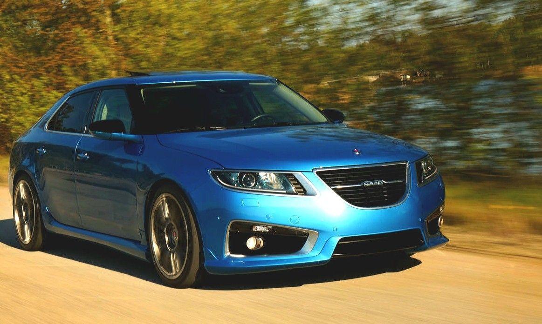 The Stunning Saab 9 5ng Aero Xwd Ttid6 Sky Blue Edition 001 001 Luxury Sports Sedan Sports Sedan Saab Sedan