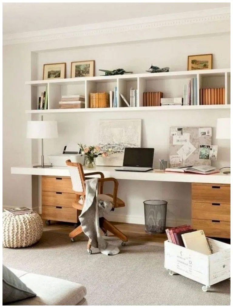 50 Amazing Home Office Ideas Will Make You Want To Work Homedecorsidea Info Office Desk Designs Home Office Design Office Cabinet Design