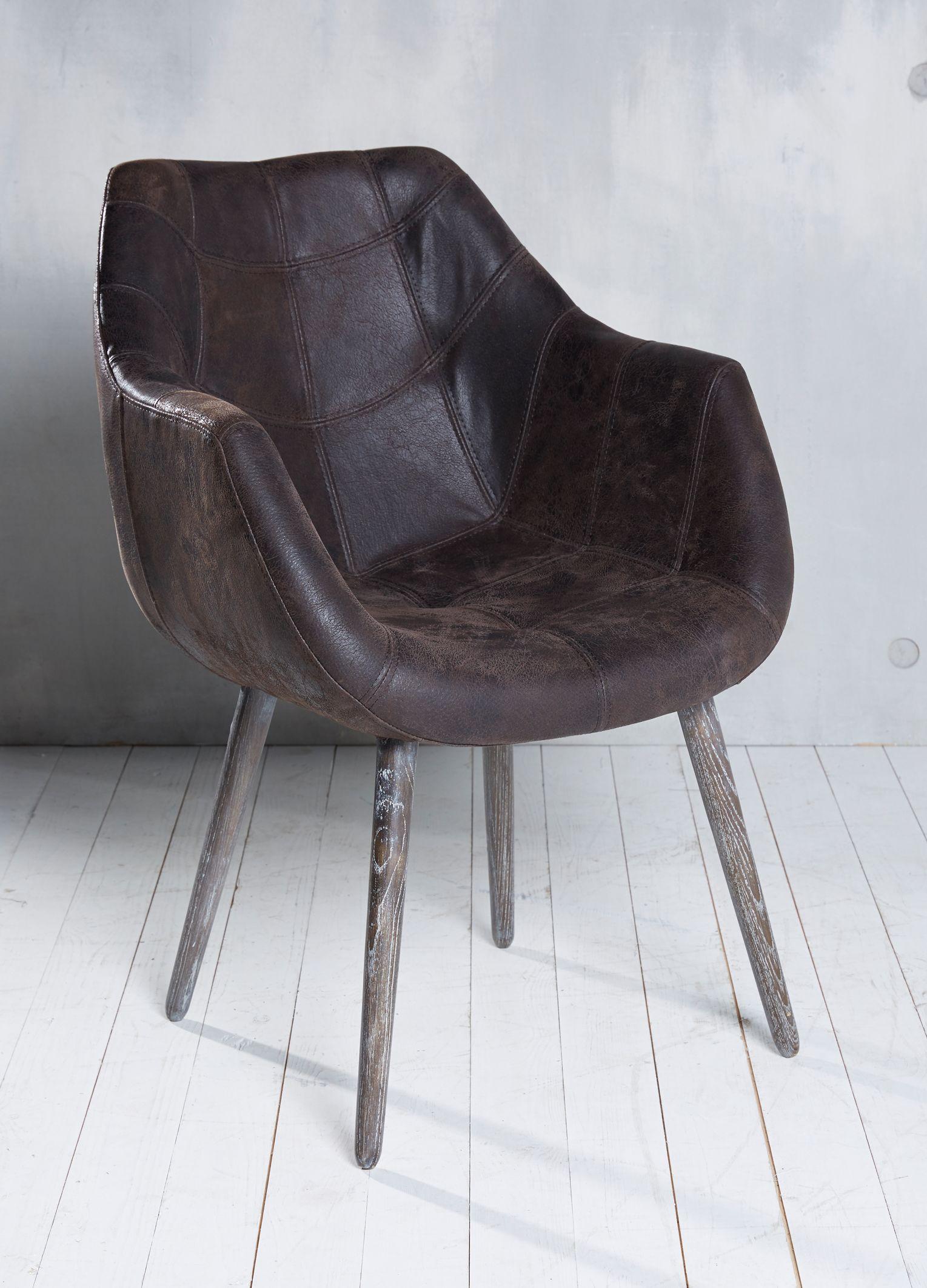 Designerstuhl Echtleder Im Retro Look Stuhl Armlehnenstuhl Lederstuhl Retrolook Design Indoor Holz Mobel Innene Armlehnstuhl Lounge Stuhl Stuhl Design