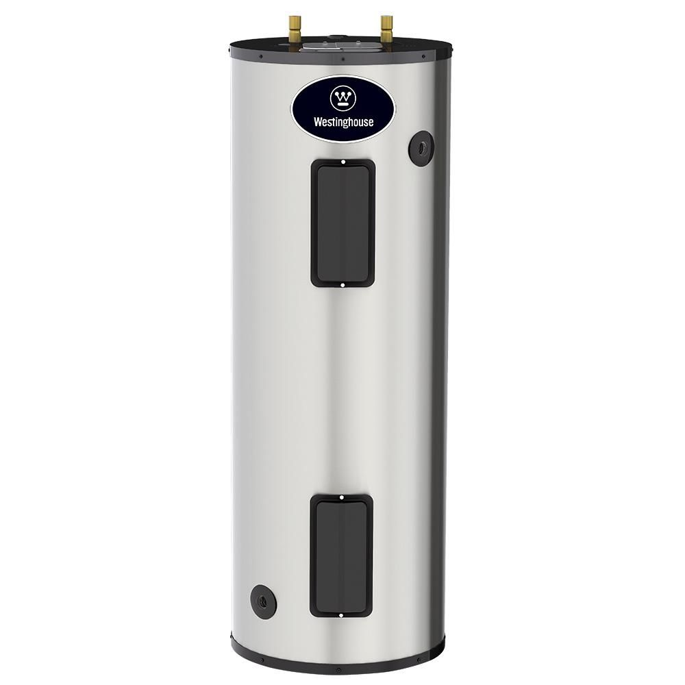 40 Gal 4500 Watt Lifetime Residential Electric Water Heater With Heaters Durable 316l Stainless Steel Tank
