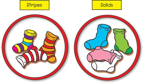 All Kinds of Socks, Lesson Plans - The Mailbox | Task boxes autism ...