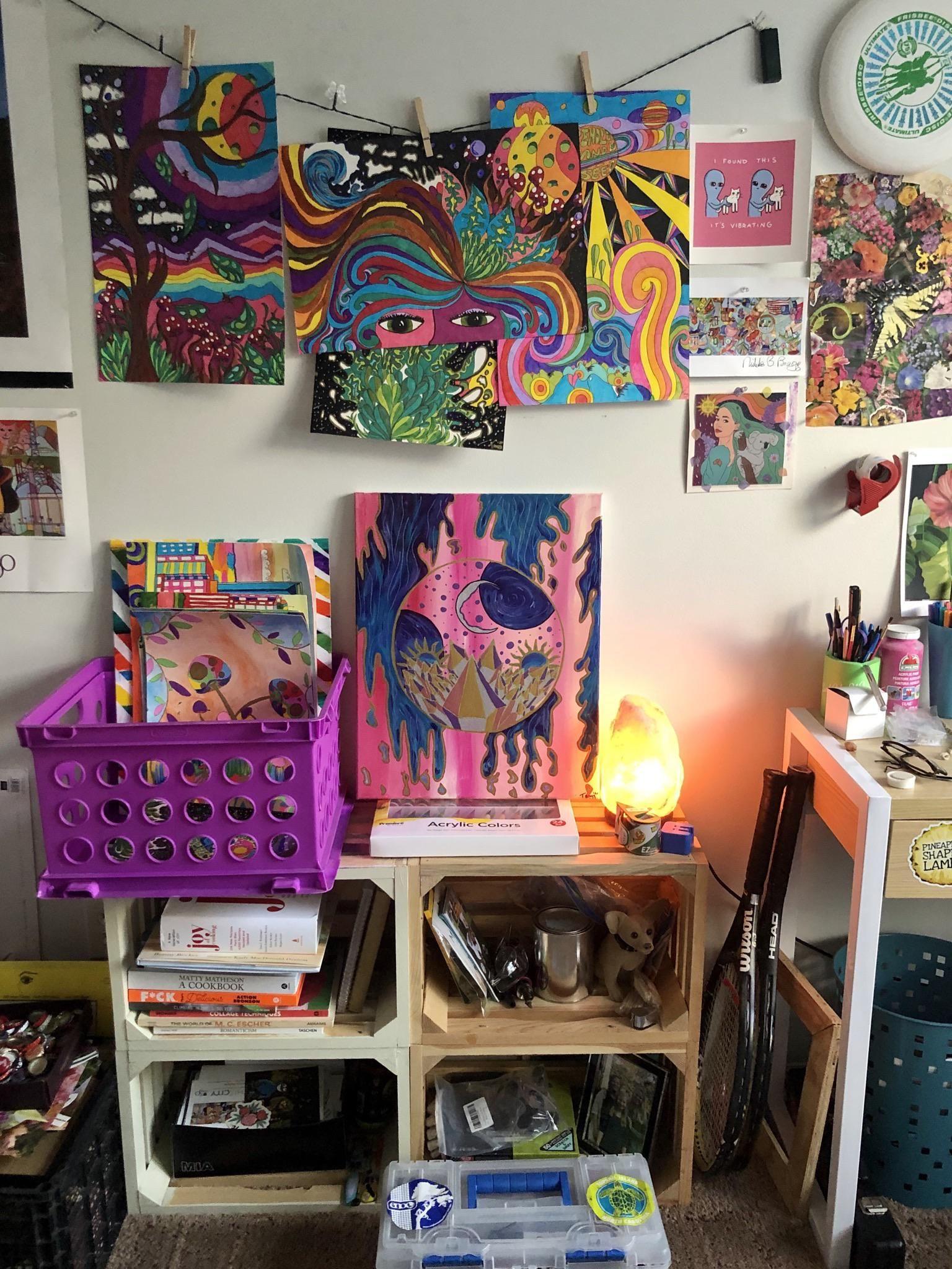 My cozy little studio in 2020 | Indie room decor, Indie ...