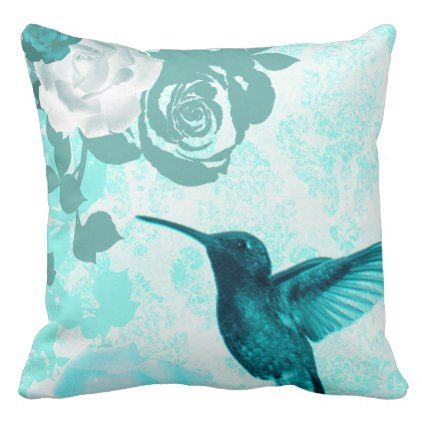 Humming Birds Collection Throw Pillow dorm decor t ideas