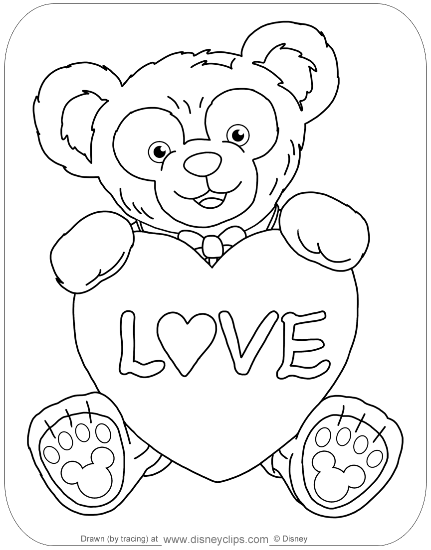 Coloring page of Disney Parks 39